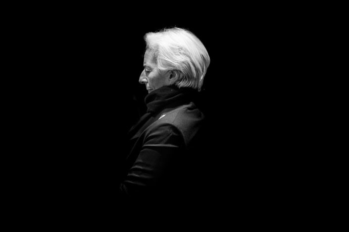 Christine Lagarde, WEF, Mattias Nutt